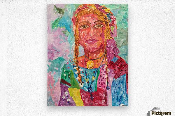 Gypsy Queen  Metal print