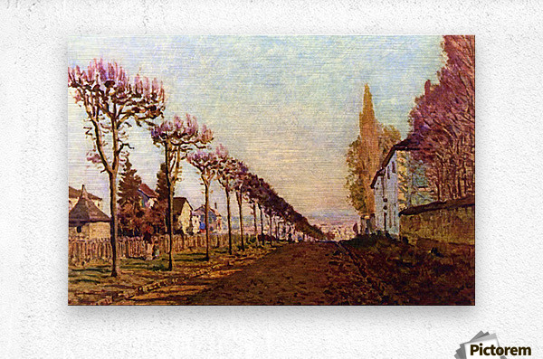 The Avenue by Sisley  Metal print