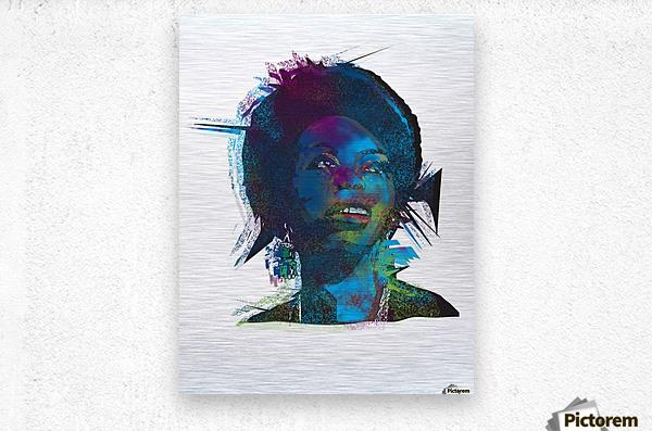 Nina Simon Art   Metal print