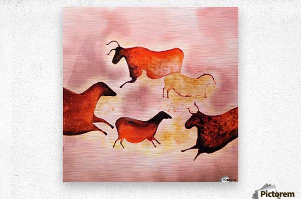 Art185  Metal print