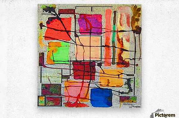 Art198  Metal print