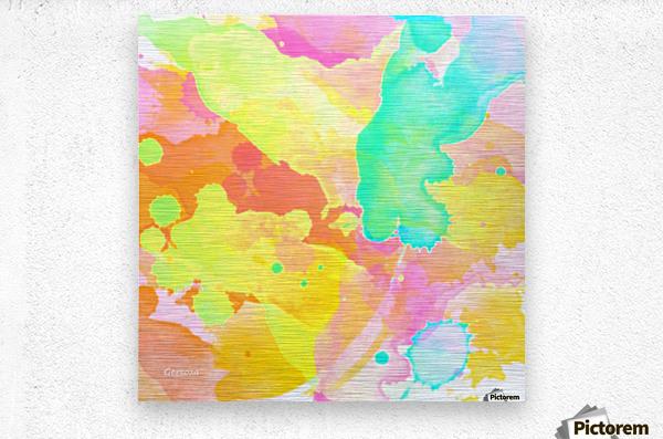 Art218  Metal print