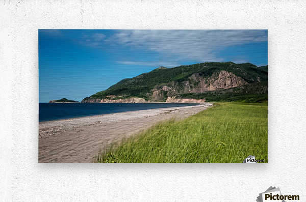 Petit Etang Beach Memories-2  Metal print