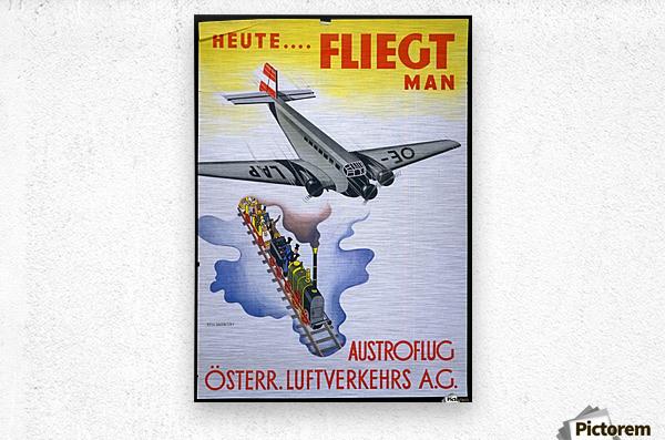 Austroflug  Metal print