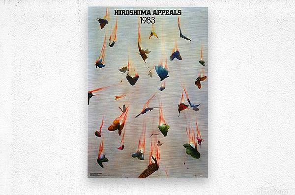 Hiroshima Appeals 1983  Metal print