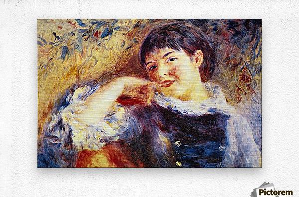 The Dreamer by Renoir  Metal print