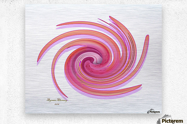 The whirl, W1.3A  Metal print