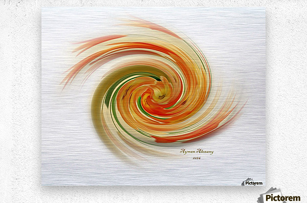 The whirl, W1.6A  Metal print