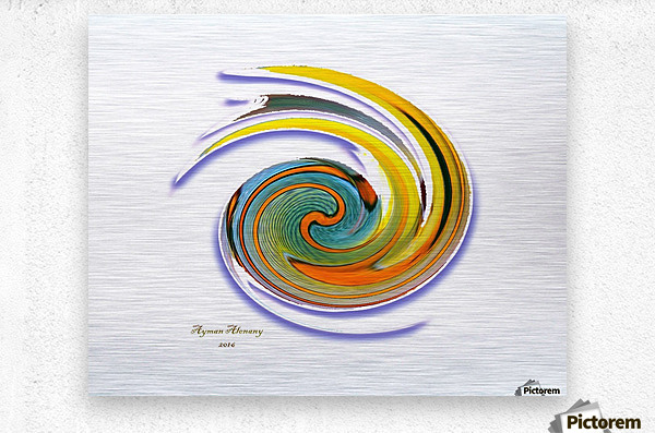 The whirl, W1.11A  Metal print