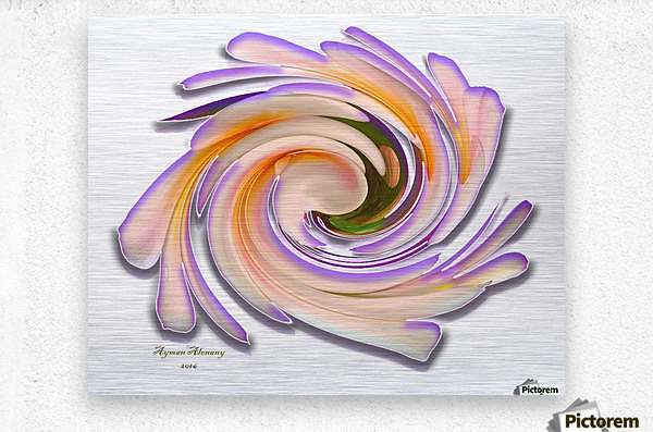 The whirl, W1.8A  Metal print