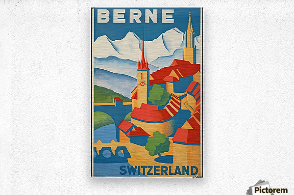 Berne Switzerland  Metal print