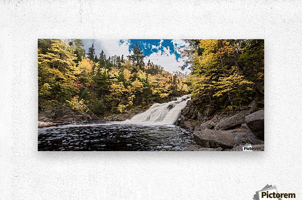 Colorful Mary Ann Falls  Metal print