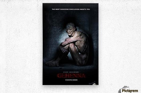 Gehenna  by  James Gregory  Metal print