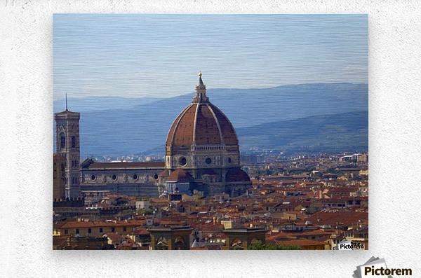 The Magic of Florence  Metal print