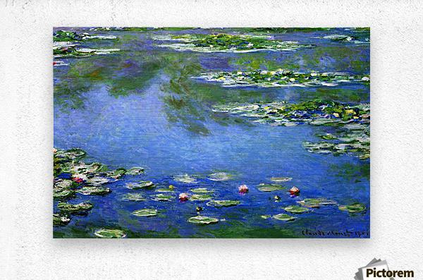Water Lilies by Monet  Metal print