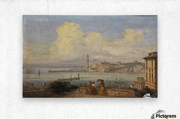 Bucht von Neapel 1855  Metal print