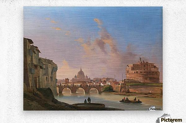 San Pietro e Castel Sant Angelo  Metal print