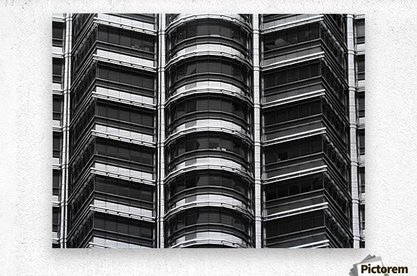 Kuala Lumpur Petronas Twin Towers Malaysia  Metal print