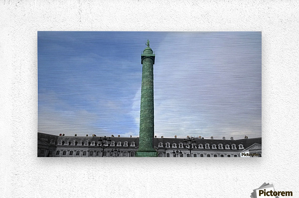 Paris Vendome  Metal print