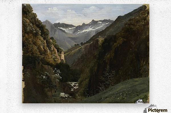 Swiss, 1810-1864  Metal print