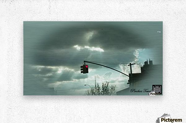 ART  sky   cloudy 3    Metal print