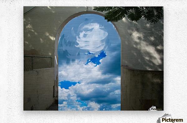 ArtDesign26.com   gate to sky  Metal print