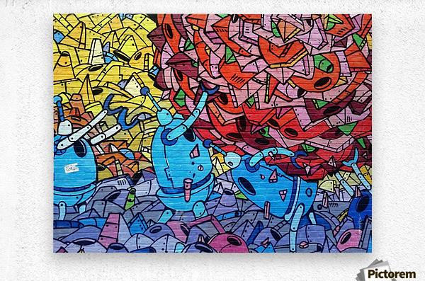 graffiti 569265  Metal print