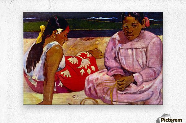 Women of Tahiti by Gauguin  Metal print