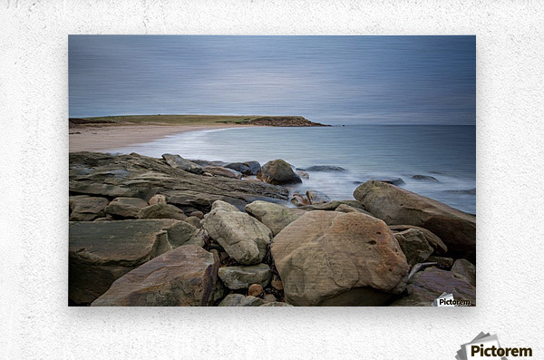 Sands of Whale Cove  Metal print