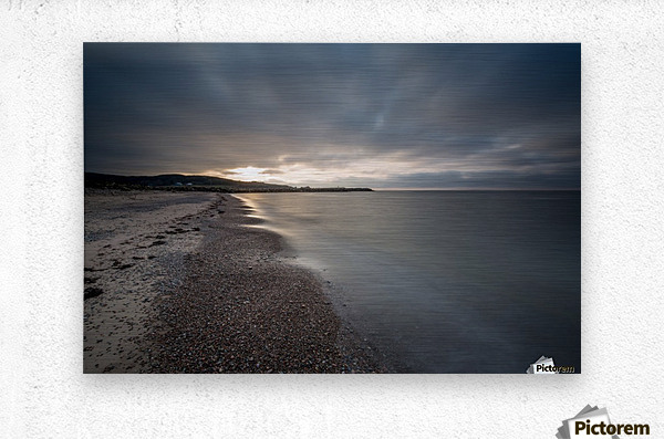 Belle Cote Beach at Sunset  Metal print