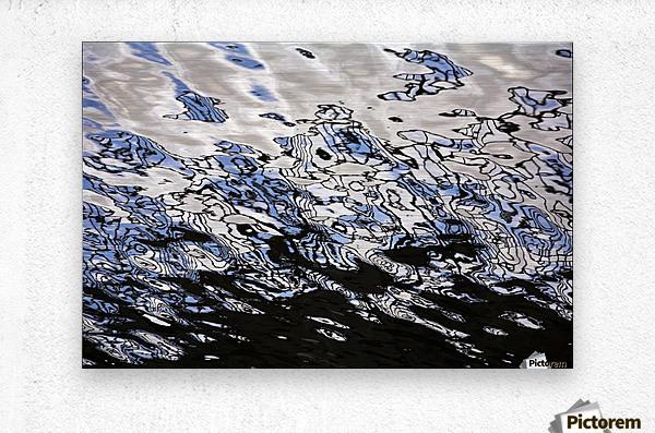 Water Reflections  Metal print
