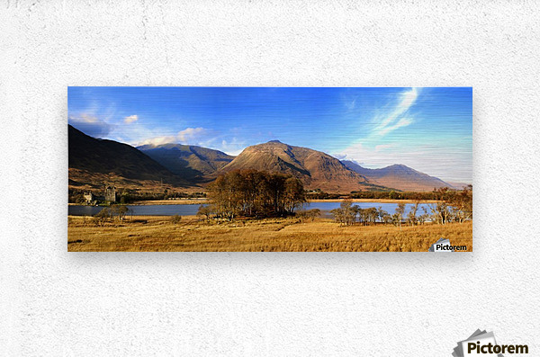 Kilchurn Castle, Loch Awe, Scotland  Metal print