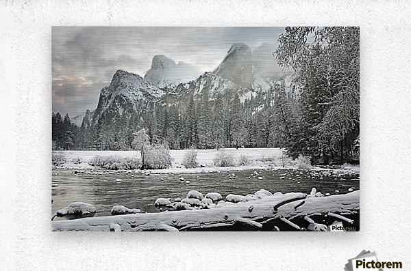 Yosemite National Park, California, Usa  Metal print