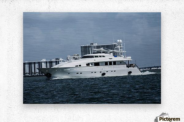 Yacht  Metal print