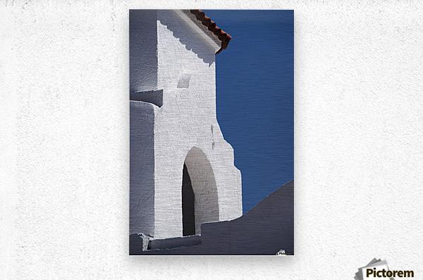 Church Bell Tower; Chacras De Coria, Mendoza, Argentina  Metal print
