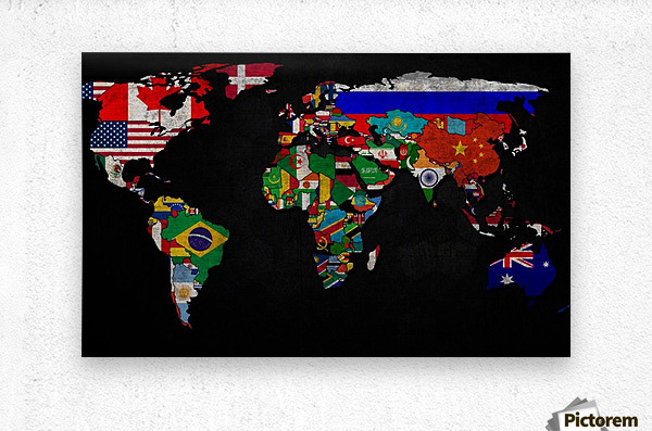 World map country flag worldflag canvas the sciox Choice Image