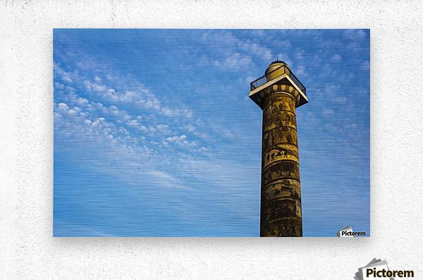 Astoria Column; Astoria, Oregon, United States of America  Metal print