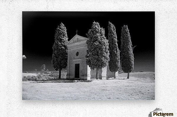 Tuscany Montalcino  Metal print