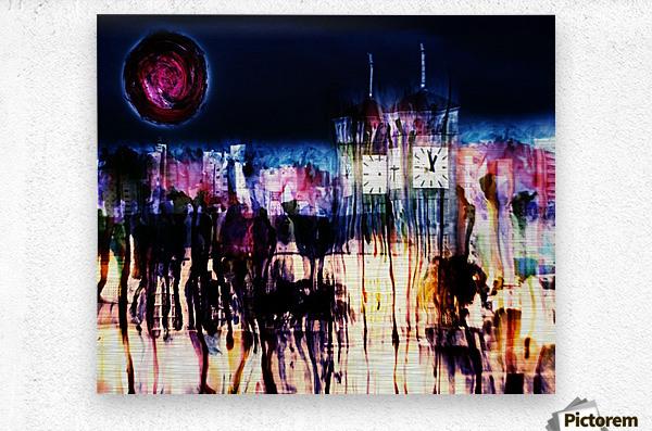 Cityscape Serie  Metal print