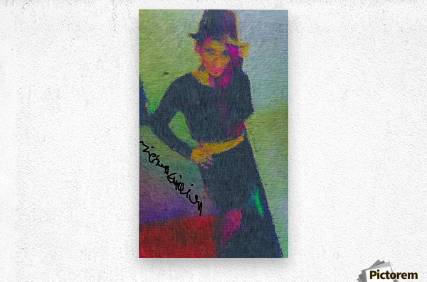 Black Magic Woman  Metal print