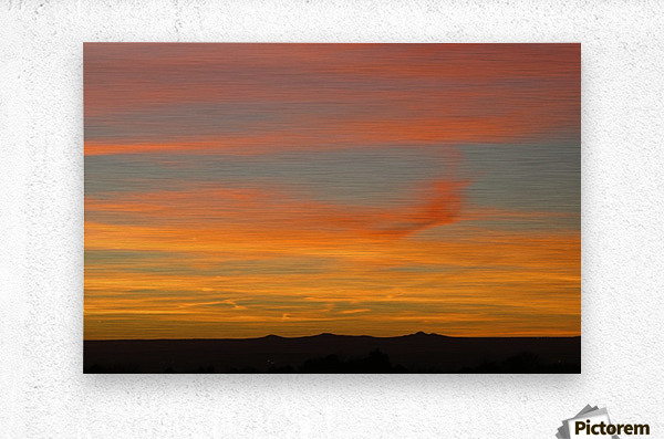 Amazing Sunset 1VP  Metal print