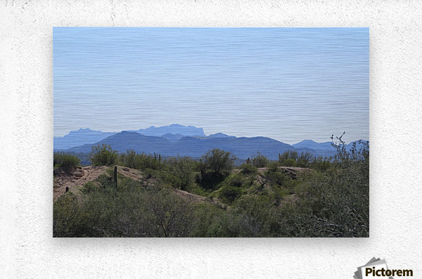 Tonto National Forest 1VP  Metal print