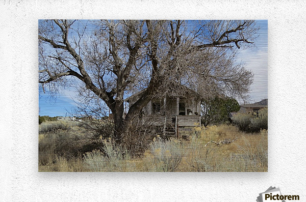 Turquoise Trail - This Old House 1VP  Metal print