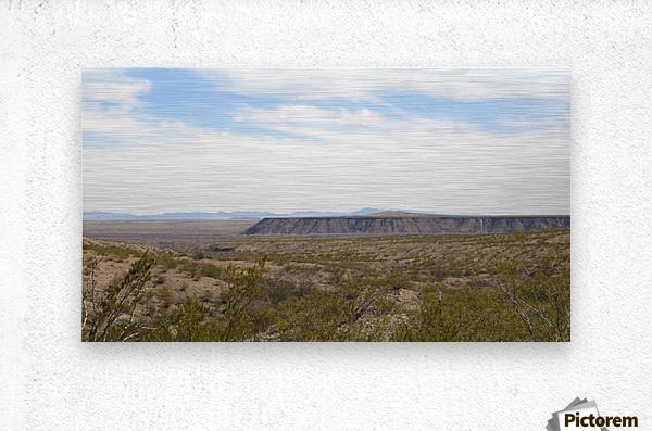 Landscape around Fort Craig VP5  Metal print