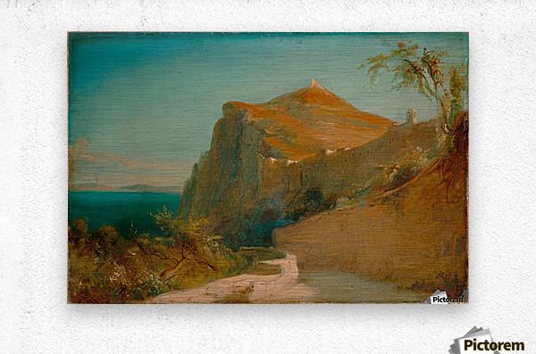 Tiberiusfelsen auf Capri  Impression metal