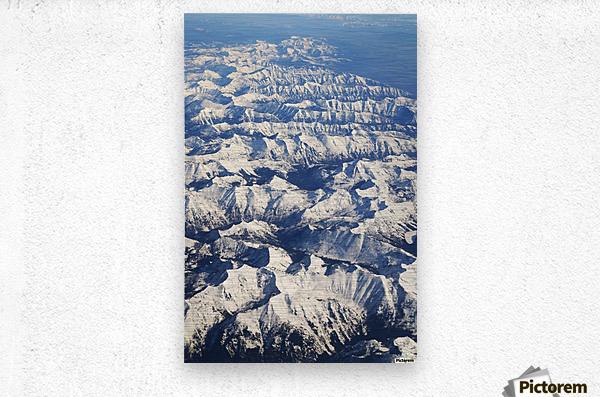 The Rockies  Metal print