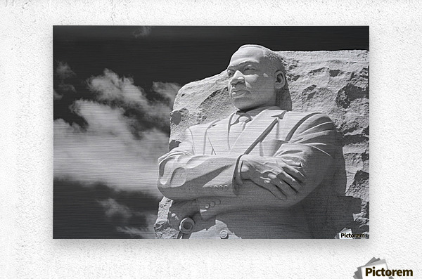 Thank You Dr. King  Metal print