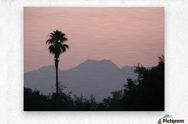 Ojai, California VP1  Metal print
