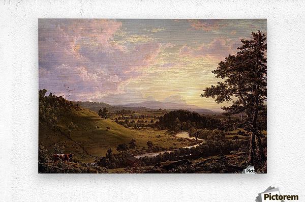 Stockbridge Mass 1847  Metal print