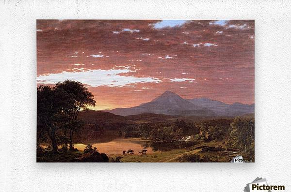 Mount Ktaadn aka Mount Katahdin 1853  Metal print